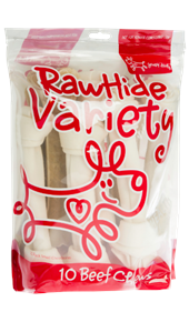 Rawhide Variety Dog Treats