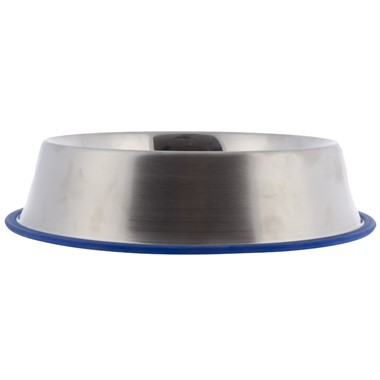 Stainless Steel Rubber Base Dog Food Bowl