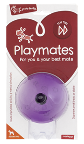 Dog Puzzle Toy - Purple Ball