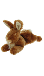 Cuddly Rabbit Dog Toy