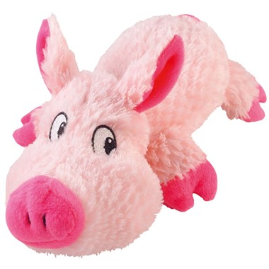 Cuddly Pig Dog Toy