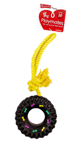 Tyre Dog Toy