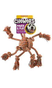 Chewers Rope Dog Toy - Octopus