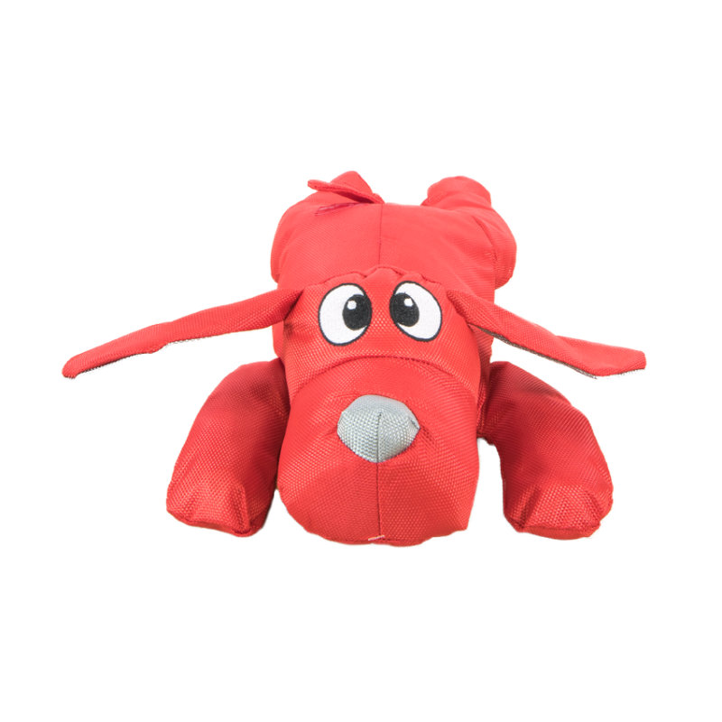 Outdoor Dog Toy - Red Droolly Dog
